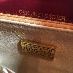 Francesco Rogani Bags - Francesco Rogani Red Leather Purse